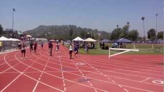 2012 Pasadena Running Roses Youth Track Meet Intermediate Boy