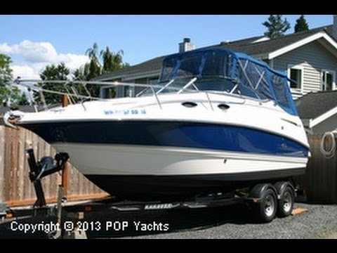 2006 Chaparral 240 Signature Travel Video
