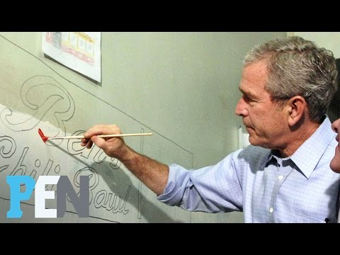 Laura Bush Was Surprised Husband George W. Bush Painted In Retirement | PEN | Entertainment Weekly