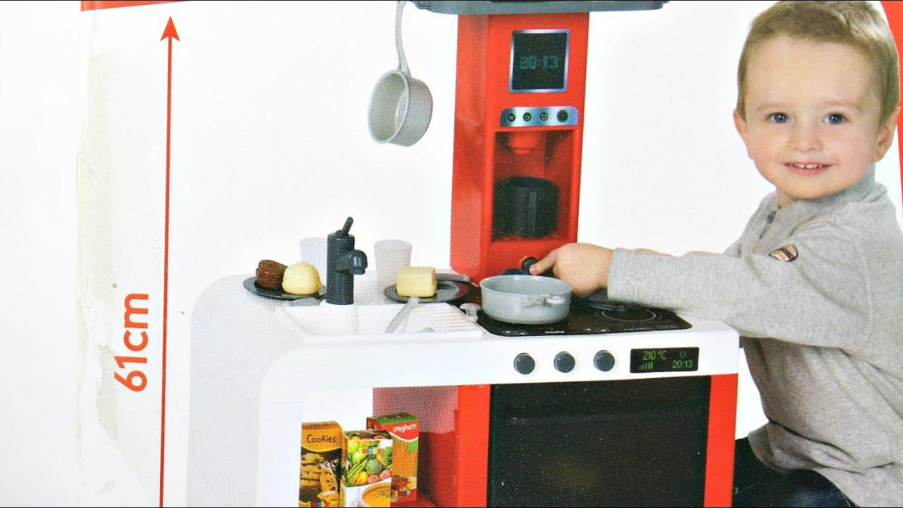 Smoby Mini Tefal Elektroniczna Kuchenka Cheftronic 24114 Recenzja
