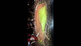 انصار اتحاد مدينة عنابة يلهبون ملعب 19 ماي