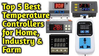 Top 5 Temperature Controllers 2020, (Best Temperature Sensors), Which one is the best Controller
