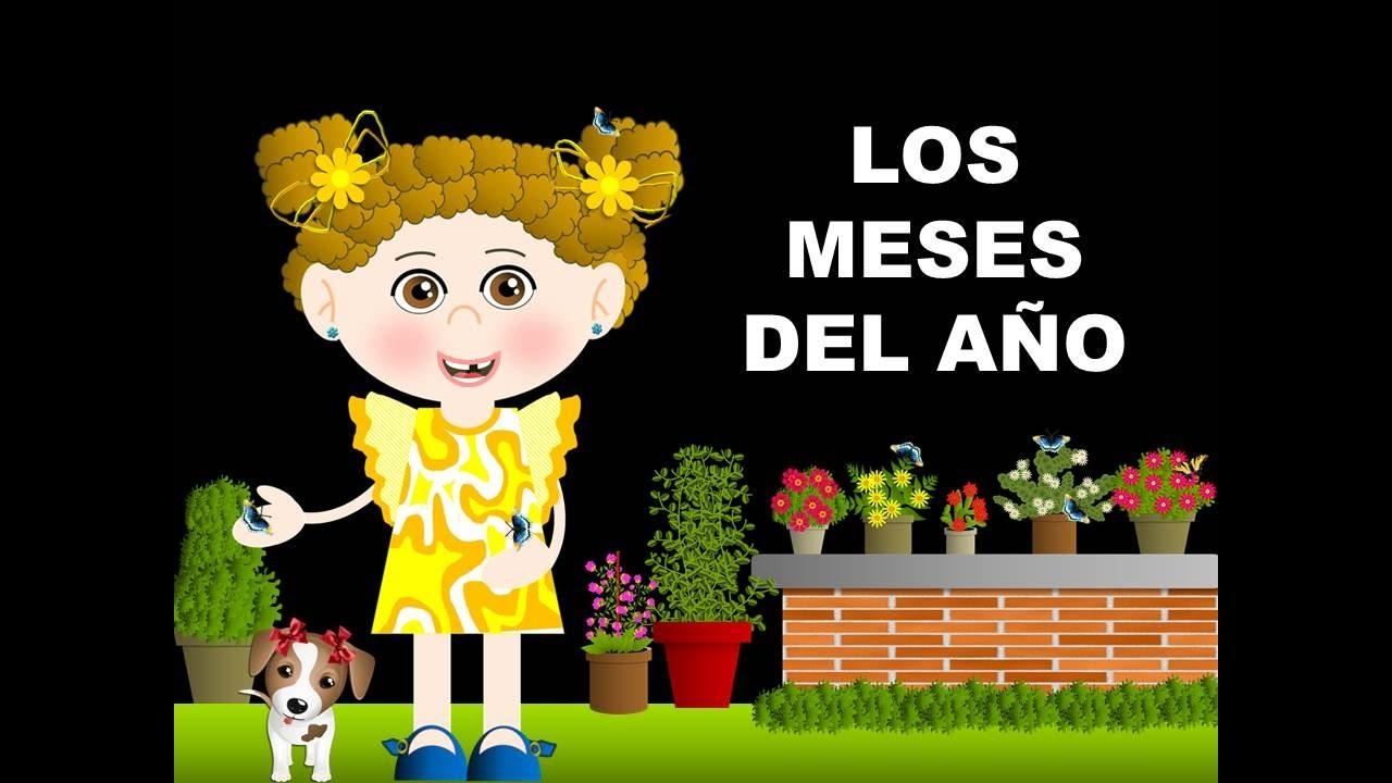 Los Meses Del Ano En Espanol Videos Para Ninos Material