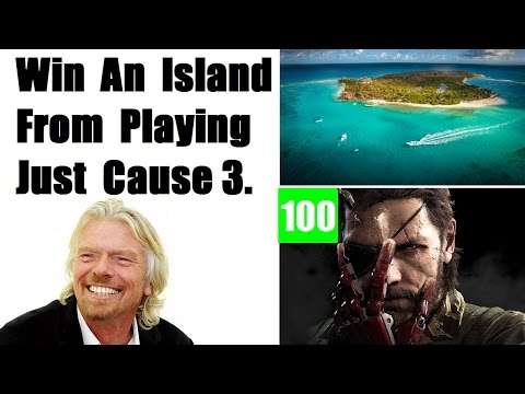 Win An Island By Playing Just Cause 3, Metal Gear Solid V Reviews Are Impressive, Xbox One Donations