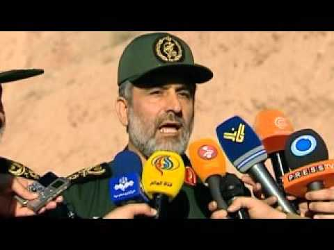 IRAN massive missile launch war games from underground bunkers