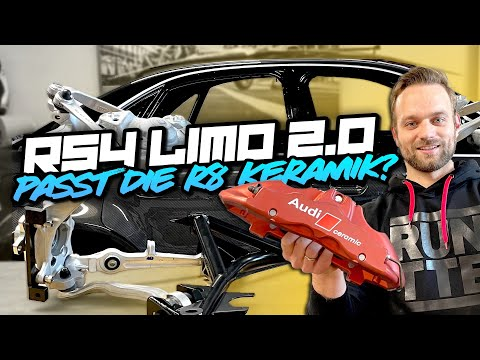 RS4 Limo 2.0 - Passt die R8 Keramik? Wir montieren die Vorderachse! #42 | Philipp Kaess |