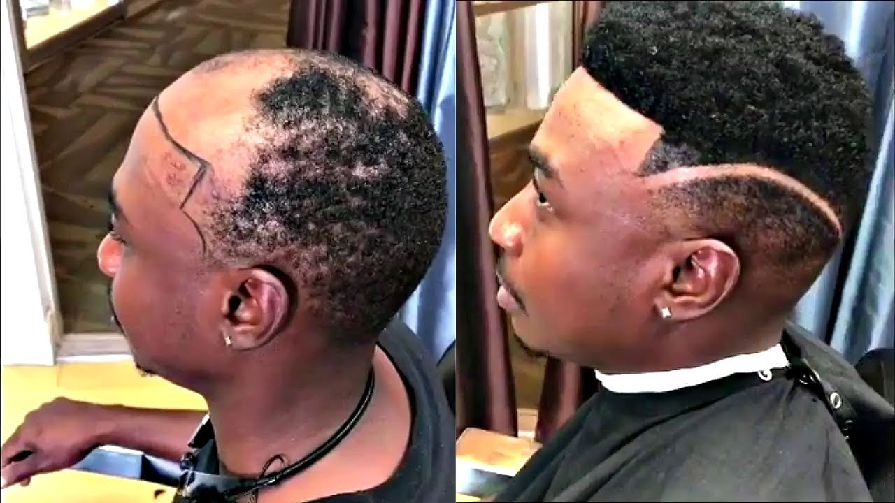 Man Weave Transformations Cut By Dillons Image Afro Haircut