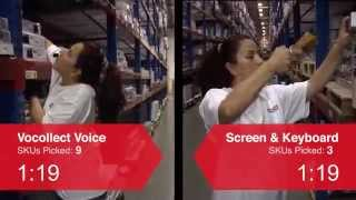 Voice-Directed Picking vs. RF Scanning Picking in a Distribution Center