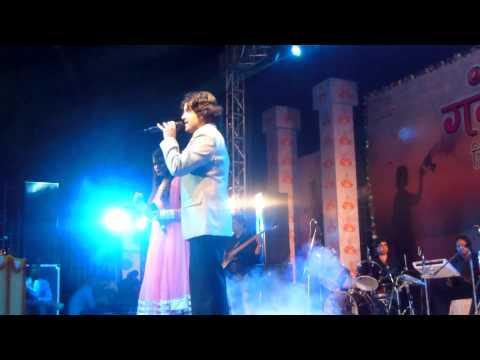 Daawat-e-ishq live with Javed Ali by Divya Srivastava at Ganga Mahotsav