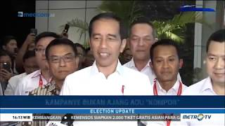 Mantap ! Jokowi Tantang Prabowo-Sandi Beradu Ide & Gagasan