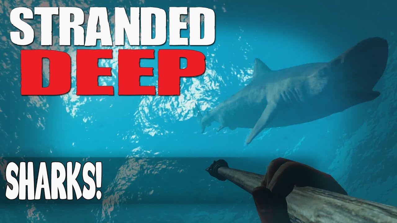 how to kill the shark in stranded deep