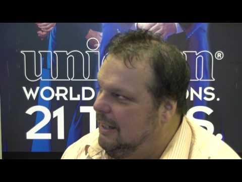 Peter Manley speaks to Stuart Pyke