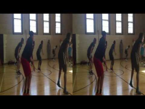 Lady Reign Workouts- Rich Central High School Class of 2018- Mimi Smith