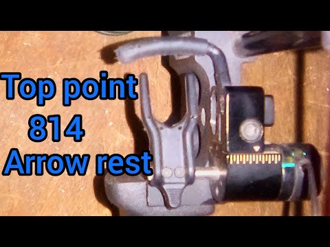 Toppoint Archery 814 Arrow Rest Review.  # QAD Style Arrow Rest