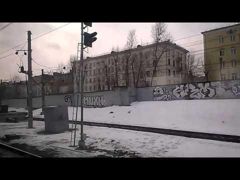 ЭД4М-396 | Отправление с Павелецкого вокзала
