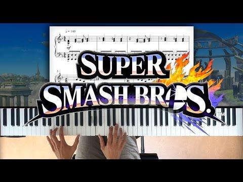 Super Smash Bros 4 piano + sheet music - Intermediate