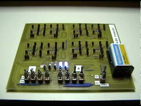 Making your own 4 bit computer from transistors