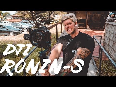 DJI Ronin S Hands On FIRST LOOK