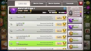 Clash of Clans Update~Neue Liga/ Fabrik für Dunkle Zauber~Lets play Clash of Clans[GERMAN/HD]