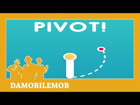 ★ PIVOT! by Appsolute Games LLC and Hard Tap Games (iOS Gameplay)