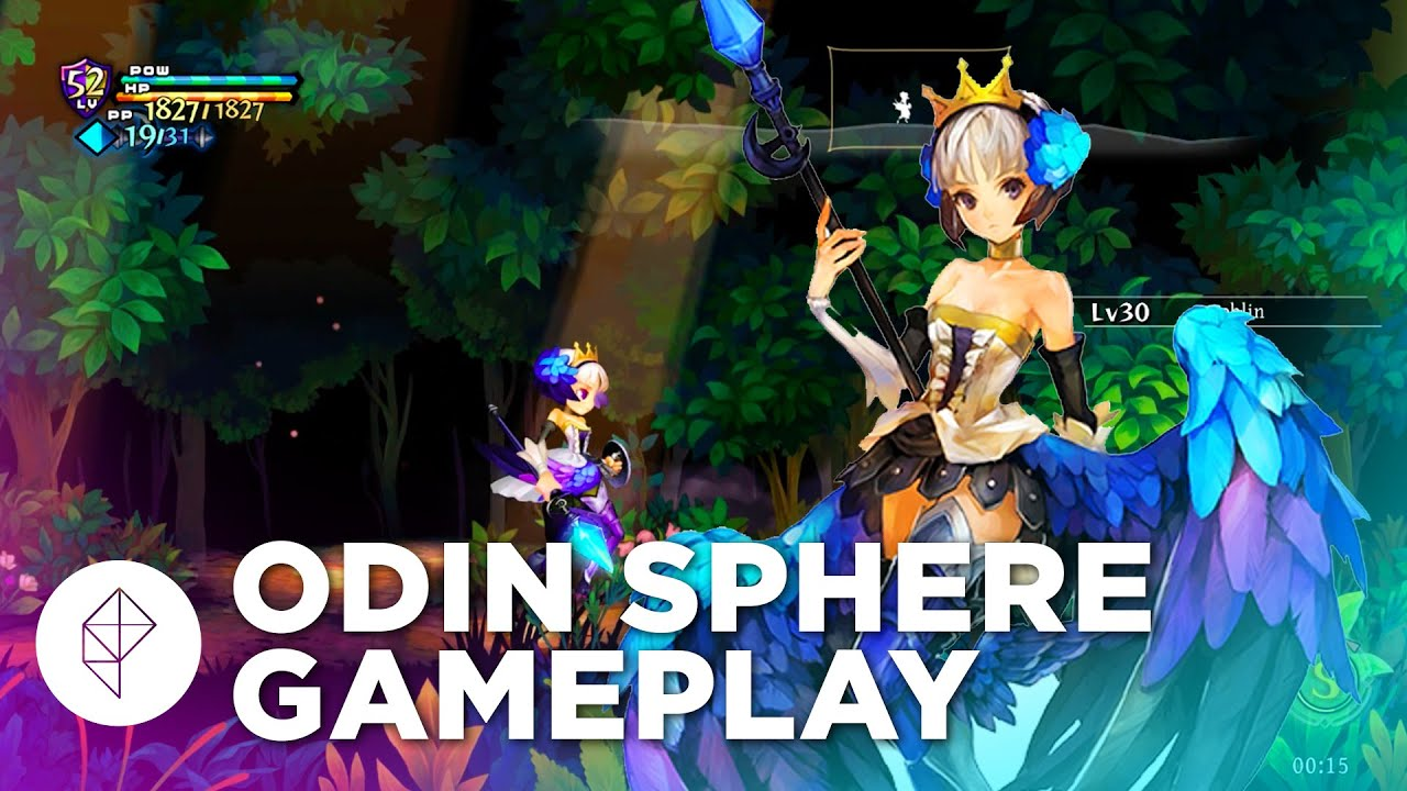 Odin Sphere Leifthrasir 14 Minutes Of Ps4 Gameplay Youtube