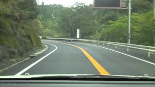 【車載動画】(No.14)県道2号線・都城隼人線 開通!! (あの災害から・・復旧)