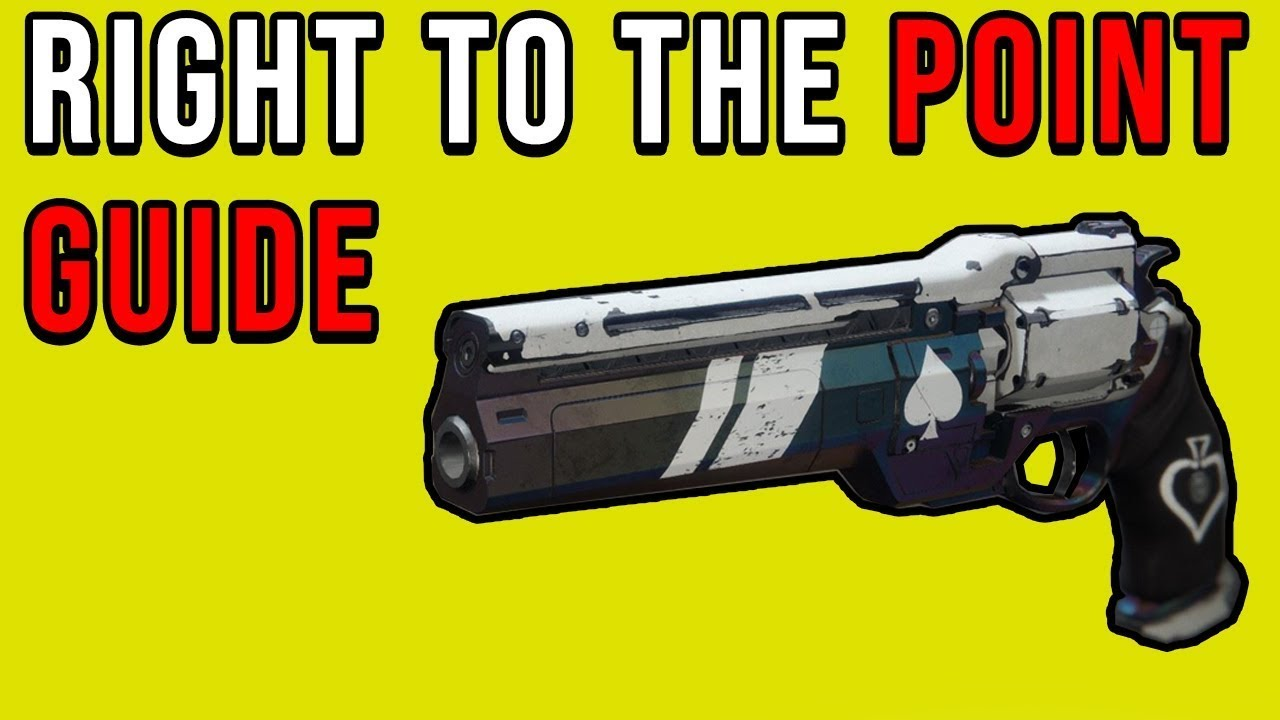 How To Get Ace Of Spades Catalyst Destiny 2