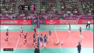 Japan vs Russia WGP Finals 2014 Highlights (JPN)