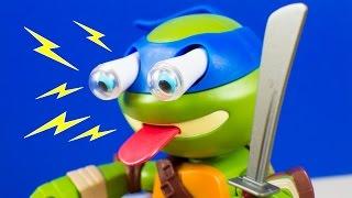 Teenage Mutant Ninja Turtles Leo Ninja Turtle Toys TMNT Funny Squeeze 'Ems Leonardo