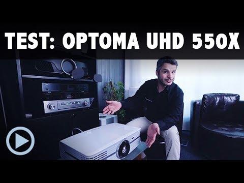 Test OPTOMA UHD 550x / Vorstellung Ultra HD 4K Beamer UHD550x