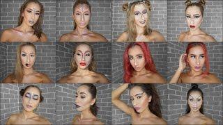 Zodiac Inspired Makeup Looks (All 12) ♡ Andrea Kyriakou