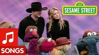 Sesame Street: Faith Hill and Tim McGraw Sing Take a Turn