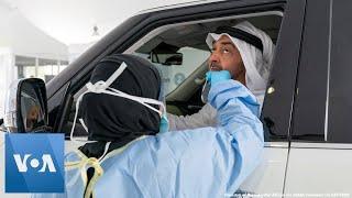 Abu Dhabi Crown Prince Gets Coronavirus Test at Drive-Thru