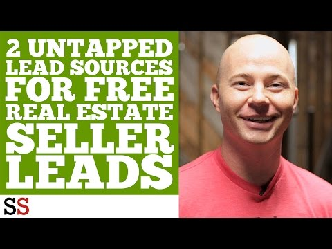 2 Untapped Lead Sources For FREE Real Estate Seller Leads