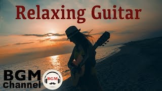 Summer Sunset Guitar - Healing Music with Ocean Sounds - 癒しの夕暮れギターBGM