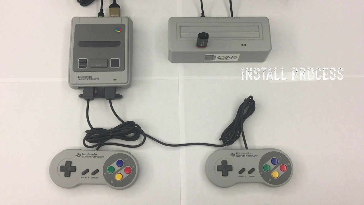 C2M – Classic to Magic – Play all SNES Cartridges and Roms