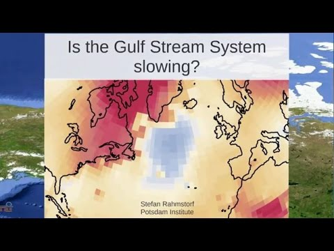 Is the Gulf Stream Slowing? Prof Stefan Rahmstorf (October 2016)