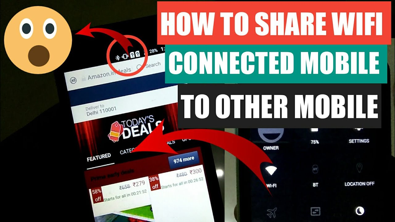 how to get wifi in mobile