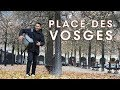 Bed Prep Attempts and Place des Vosges in Fall