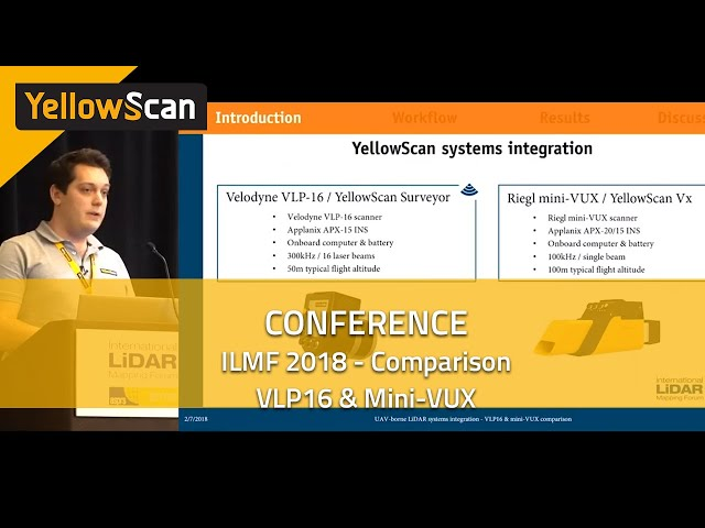 VLP16 & Mini-VUX Comparison - ILMF 2018