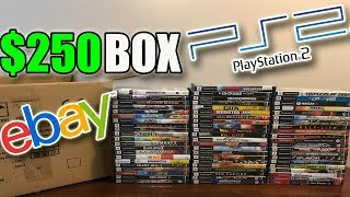 I Bought A $250 Mystery Box of PS2 Games Off Ebay - This Is What I Got