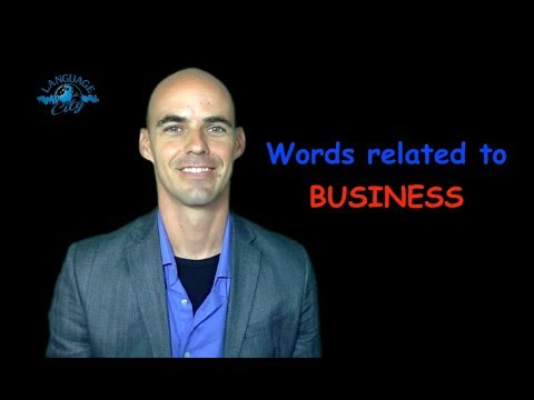 Business terms in French