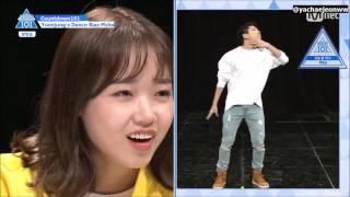 [ENG SUB] Countdown101 Yoonjung's Dance Picks Noh Taehyun cut | PRODUCE101