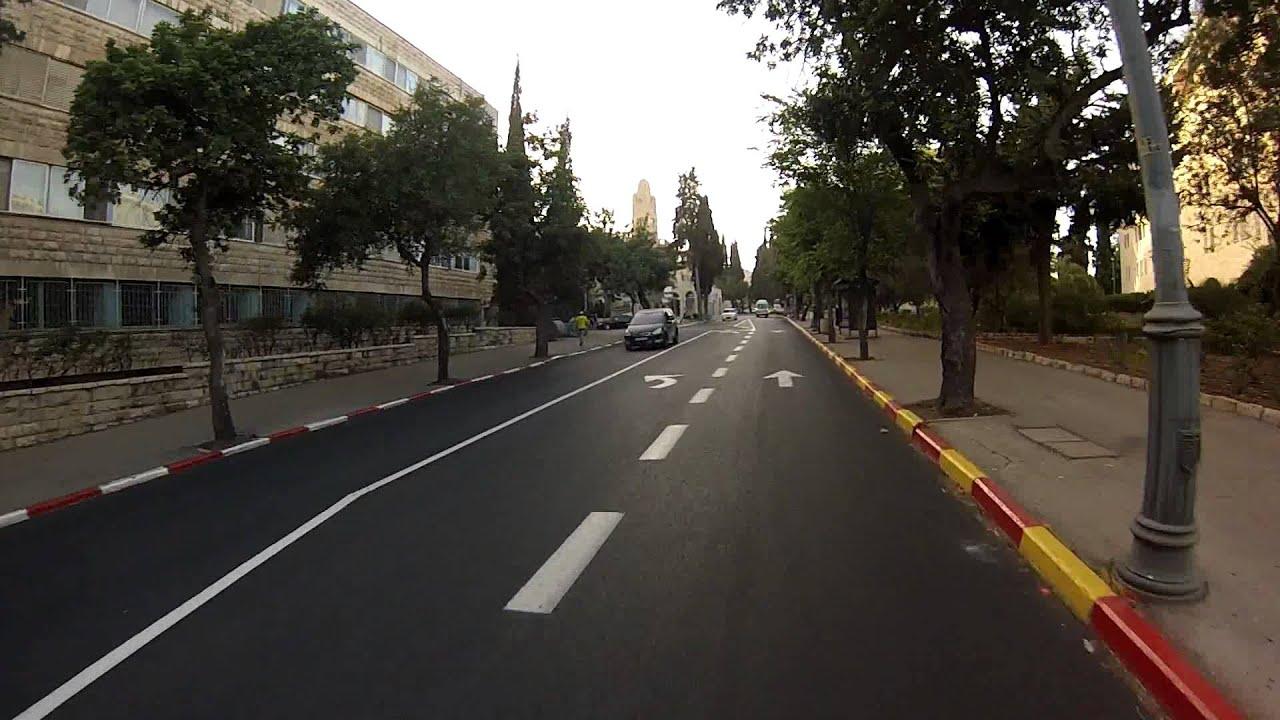 אופניים על מנוע בנזין (ירושלים)