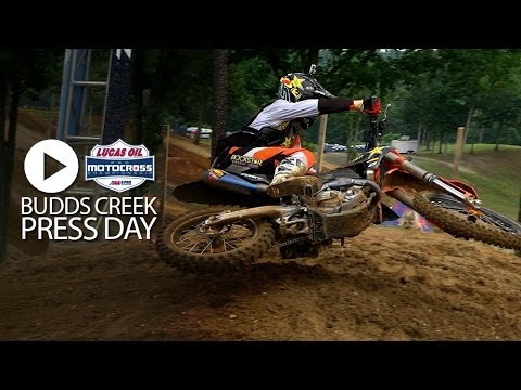 RAW: Budds Creek Pro National Press Day Highlights (MXPTV)