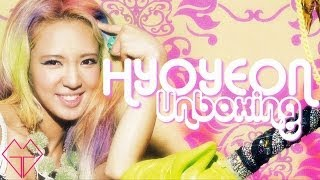 Unboxing IGAB HYOYEON Version