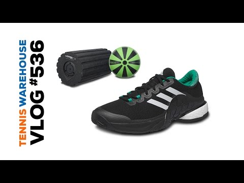 Head MXG racquets, adidas Barricade Boost and Vibrating Fitness Rollers - VLOG #536
