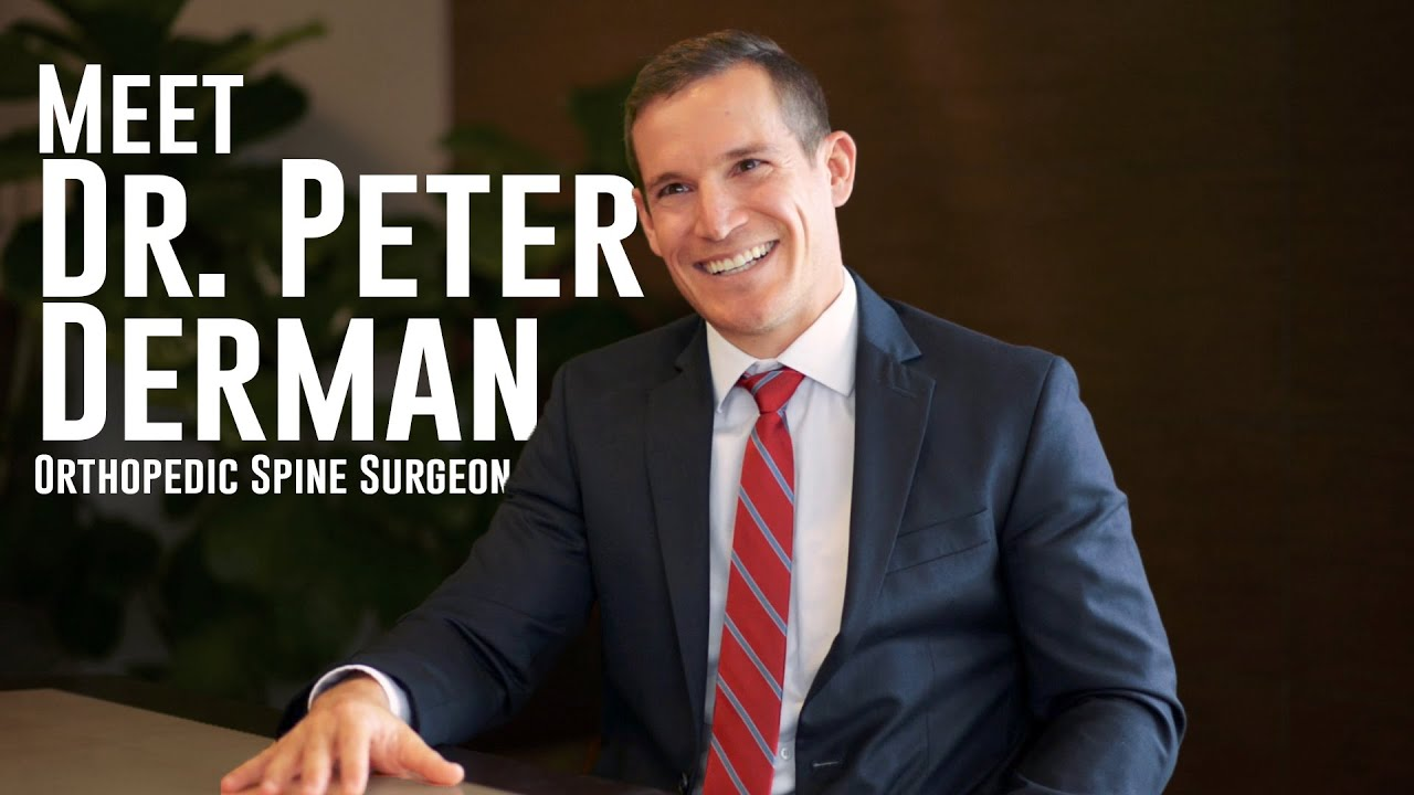 Meet Dr  Peter Derman, Orthopedic Spine Surgeon at Texas Back Institute