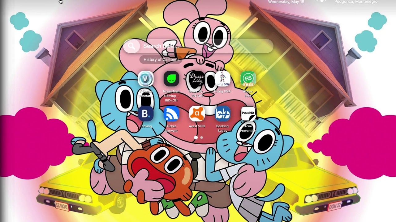 The Amazing World Of Gumball Wallpaper Youtube