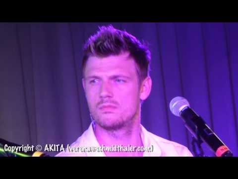 "Backstreet Boys: Preview of ""One Phone Call"" (Berlin 2013 - Part 8) HD"